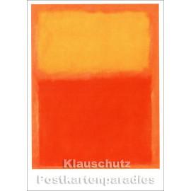 Mark Rothko - Orange and Yellow | Taurus Kunstkarte