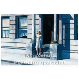 Edward Hopper Kunstkarte von Taurus | Summertime