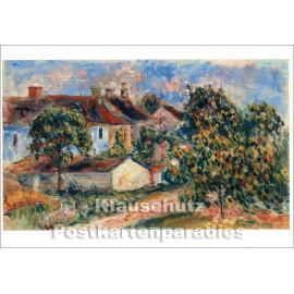 Taurus Kunstkarte | Pierre Auguste Renoir | Dorfhäuser