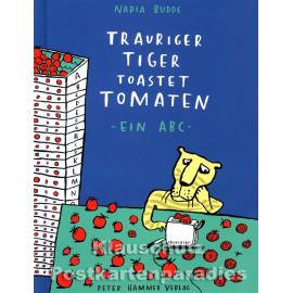 Kinderbuch 'Trauriger Tiger ...' von Nadia Budde aus dem Peter-Hammer-Verlag - Vorderansicht