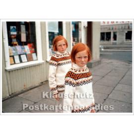 Taurus Foto Kunstkarte |Ed van der Elsken | Girls (1970)