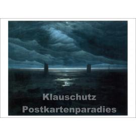 Caspar David Friedrich - Meeresufer im Mondschein | Taurus Kunstkarte