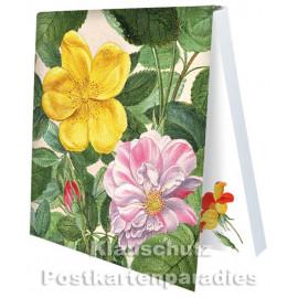 Rosen aus dem Nassau Florilegium | Rannenberg Klebezettel