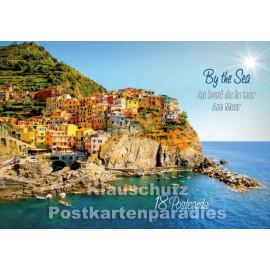 Tushita Postkartenbuch - Am Meer | Titelbild mit Küstenlandschaft