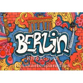 Berlin Graffiti | SkoKo Postkarte