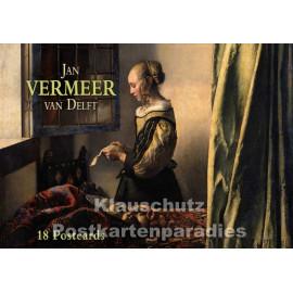 Tushita Postkartenbuch - Jan Vermeer