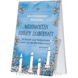 Rannenberg Adventskalender Blöckchen - Weihnachten einfach zauberhaft