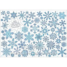 SkoKo Wimmelbild Weihnachtskarte - Welche Schneeflocke ist kaputt?