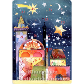 Stern über Bethlehem - Up-Cards Aufstell Adventskalender von Taurus