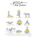Yoga für Bayern - Witzige Hühner Postkarte von Peter Gaymann