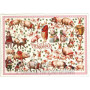 Nostalgische Glitterkarte von ACTEtre - Viel Glück Schweine