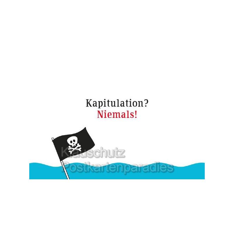 Küstenpost Postkarten - Kapitulation