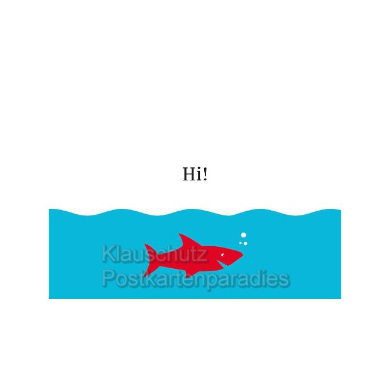 Küstenpost Postkarte von der Küste - Hi
