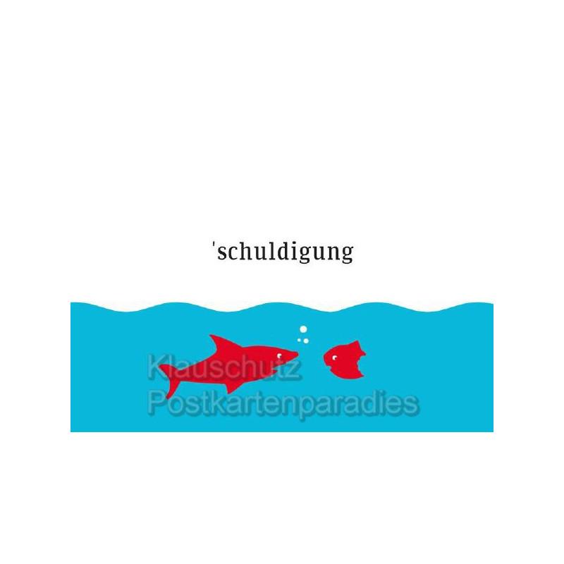 Küstenpost Postkarten - Chatlab Postkarte | `schuldigung
