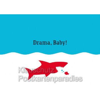 Küstenpost Postkarten - Küsten Postkarte von Chatlab - Küstenkarte Drama Baby