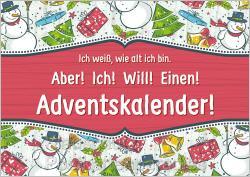 Weihnachtskarte - Ich will einen Adventskalender