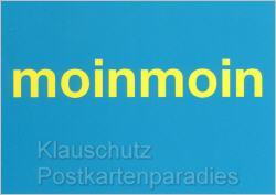 Postkarte Moin Moin
