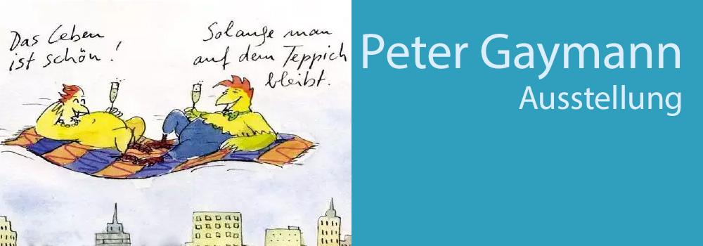 Peter Gaymann - Hinweis zur Ausstellung im Buchheim Museum