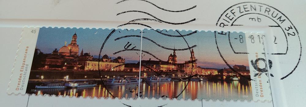 Briefmarken der Deutschen Post - Porto 2019