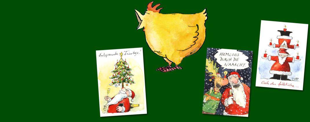 Peter Gaymann Weihnachtskarten