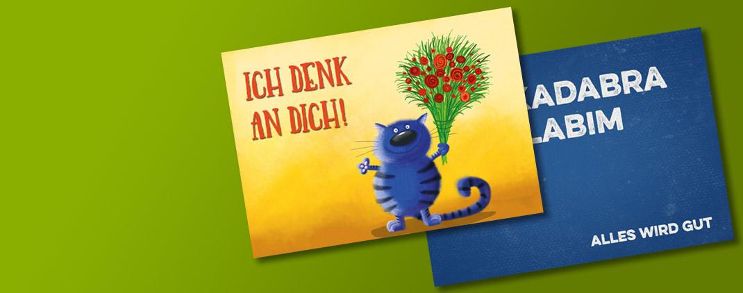Mutmacher Postkarten