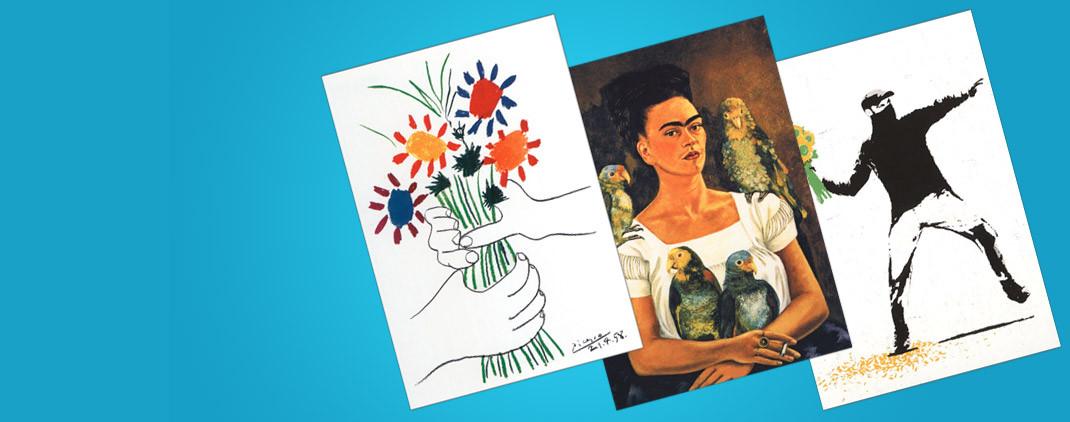 Kunstkarten und edle Kunst Postkarten