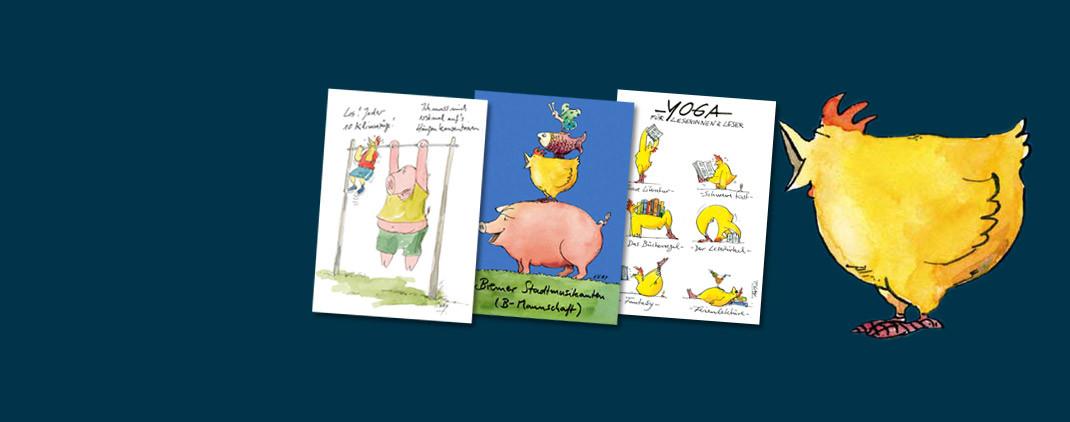 Peter Gaymann Postkarten
